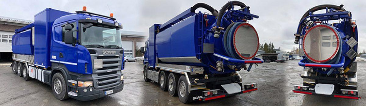 Fico Scania ADR-yhdistelmälaitteisto